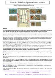 Simplex Fitting Instructions click on the image