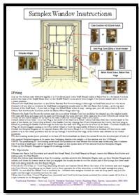 Simplex Sash Window Fittings System