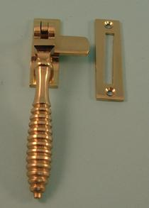 THD132 Reeded Casement Fastener with Mortice Plate Version