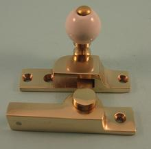 THD104N Straight Arm Fastener - Narrow - Ceramic Knob