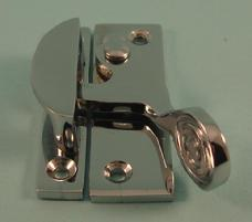 THD106/CP Claw Fastener - Art Nouveau - Non locking - Chrome Plated