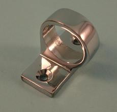 THD273/CP Sash Eye - Square End - Offset in Chrome Plated