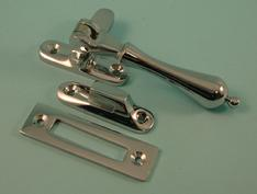 THD174/CP Tear Drop Casement Fastener With Hook & Mortice Plate in Chrome Plated