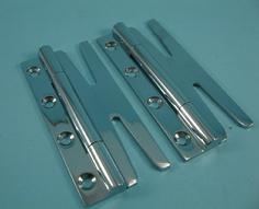 THD094/CP Slimple Hinge - Slim (Pair) in Chrome Plated