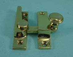 THD099N Straight Arm Fastener - Raised Round Knob - Narrow: Non-Locking