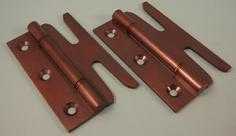 THD148/BRO Simplex Hinge Solid Brass with DSW (pair) in Bronze