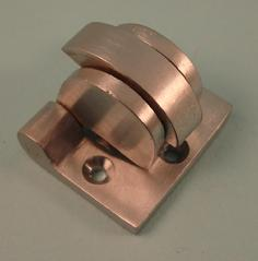 THD220/SCP Heavy Duty Cord Clutch in Satin Chrome
