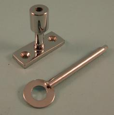 THD257/CP Brass Lockable Pin in Chrome Plated