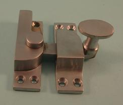 THD101/SCP Straight Arm Fastener - Standard - Oval Knob in Satin Chrome