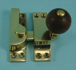 THD104WR Straight Arm Fastener - Rosewood - Standard: Non-Locking