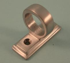 THD186/SCP Sash Eye with Border in Satin Chrome