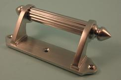 THD238/SCP Sash Handle - Victorian in Satin Chrome