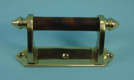 THD238WR Victorian Sash Handle - Rosewood Bar