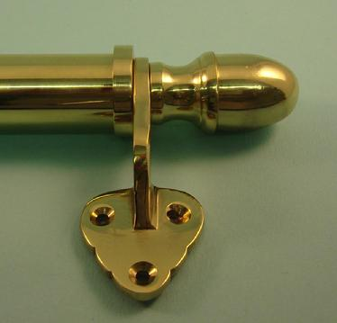 Victorian Sash Bar with Acorn Ends