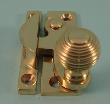 THD113 Clo Fastener - Reeded Knob - Non Locking
